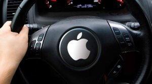 Apple'ın sürücüsüz maşınları