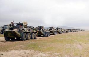 Ordumuzun təlimi davam edir