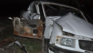 Qatar avtomobili vurdu