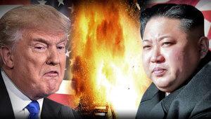 Tramp Şimali Koreyaya qarşı hərbi addımları istisna etmir