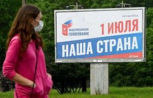 Rusiyada Konstitusiyada dəyişikliyə görə referendum səsverməsi keçirilir