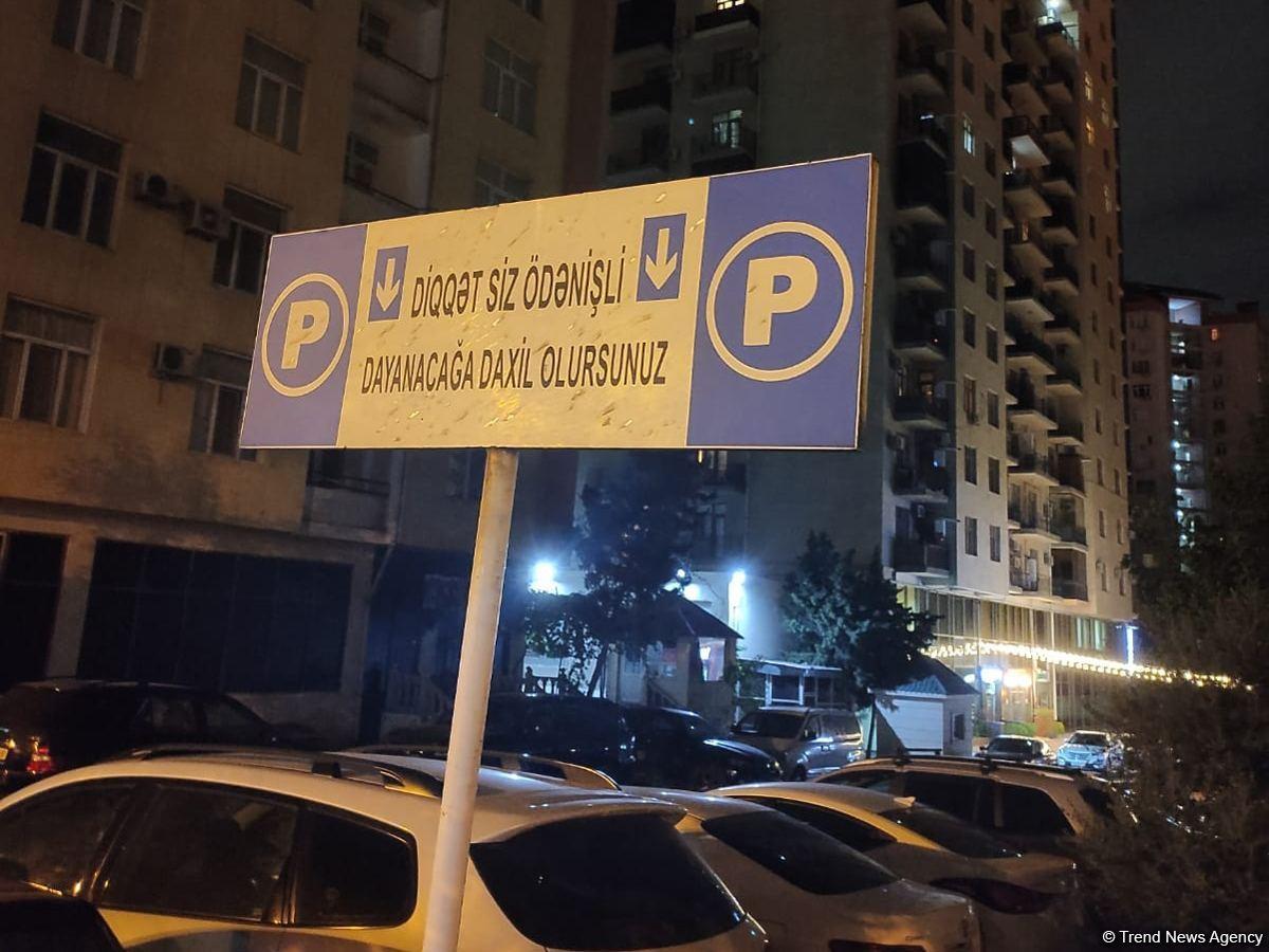 Tariflər müəyyənləşməyib, amma parklanmaya görə pul yığılır (FOTO) - Gallery Image